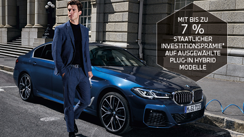 BMW 530e Investitionsprämie
